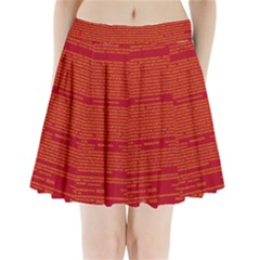 Writing Grace Pleated Mini Skirt