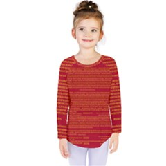 Writing Grace Kids  Long Sleeve Tee