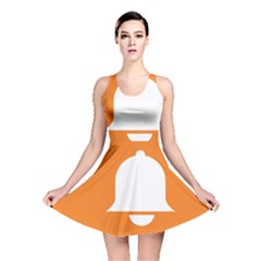 Bell Orange Copy Reversible Skater Dress