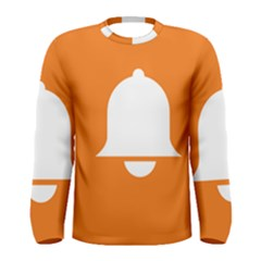Bell Orange Copy Men s Long Sleeve Tee