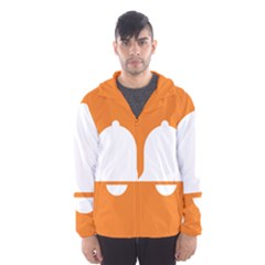 Bell Orange Copy Hooded Wind Breaker (Men)