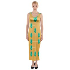 A Community Manager Los Que Aspirants Fitted Maxi Dress