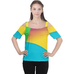 Bok Women s Cutout Shoulder Tee