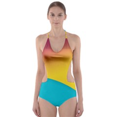 Bok Cut-Out One Piece Swimsuit