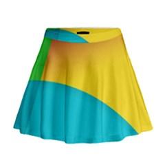Bok Mini Flare Skirt
