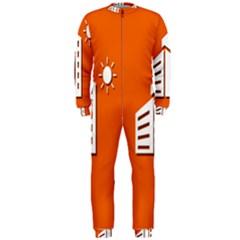 Building Orange Sun Copy OnePiece Jumpsuit (Men)