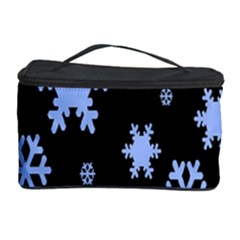 Blue Black Resolution Version Cosmetic Storage Case