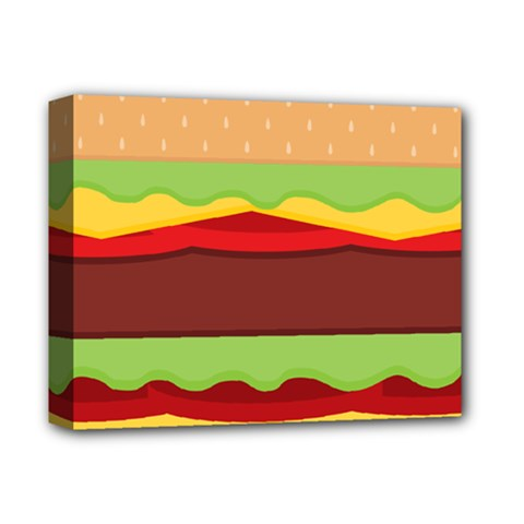 Cake Cute Burger Copy Deluxe Canvas 14  x 11