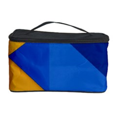 Box Yellow Blue Red Cosmetic Storage Case