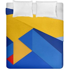 Box Yellow Blue Red Duvet Cover Double Side (california King Size)
