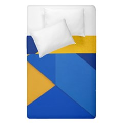 Box Yellow Blue Red Duvet Cover Double Side (single Size)