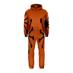 Centralized Garbage Flow Hooded Jumpsuit (Kids)