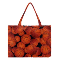 Basketball Sport Ball Champion All Star Medium Tote Bag