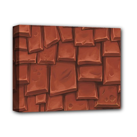 Chocolate Deluxe Canvas 14  x 11