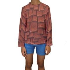 Chocolate Kids  Long Sleeve Swimwear