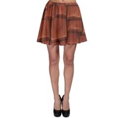 Chocolate Skater Skirt