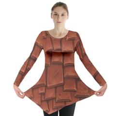 Chocolate Long Sleeve Tunic