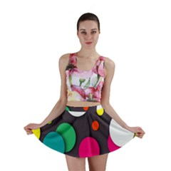 Color Balls Mini Skirt