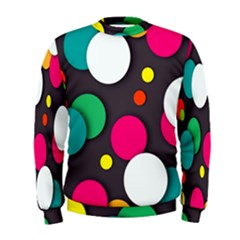 Color Balls Men s Sweatshirt