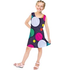 Color Balls Kids  Tunic Dress