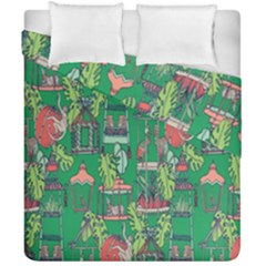 Animal Cage Duvet Cover Double Side (california King Size)
