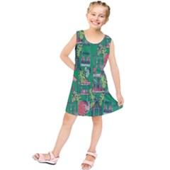 Animal Cage Kids  Tunic Dress