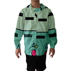 Cute Calculator Hooded Wind Breaker (Kids)