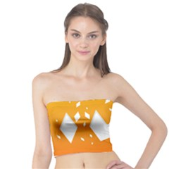 Cute Orange Copy Tube Top