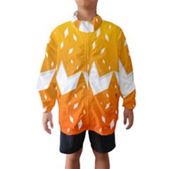 Cute Orange Copy Wind Breaker (Kids)