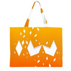 Cute Orange Copy Large Tote Bag