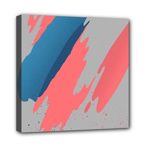 Colorful Mini Canvas 8  x 8