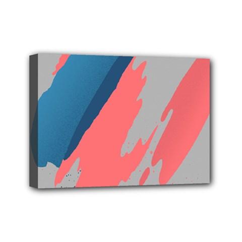 Colorful Mini Canvas 7  x 5