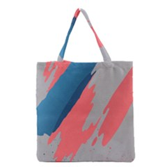 Colorful Grocery Tote Bag