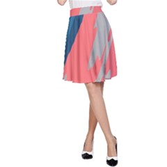 Colorful A-Line Skirt