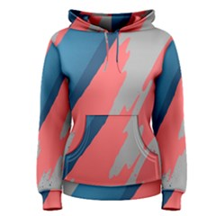 Colorful Women s Pullover Hoodie