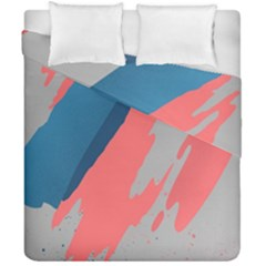 Colorful Duvet Cover Double Side (california King Size)