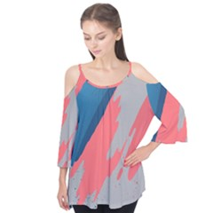 Colorful Flutter Tees