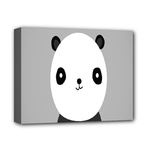 Cute Panda Animals Deluxe Canvas 14  x 11