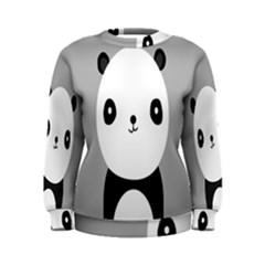Cute Panda Animals Women s Sweatshirt