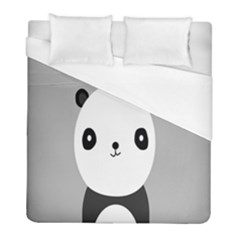 Cute Panda Animals Duvet Cover (full/ Double Size)