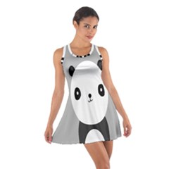 Cute Panda Animals Cotton Racerback Dress