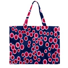 Cute Red Ball Large Tote Bag