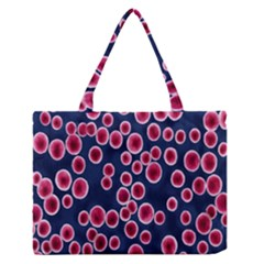 Cute Red Ball Medium Zipper Tote Bag