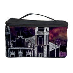Fantasy Tropical Cityscape Aerial View Cosmetic Storage Case