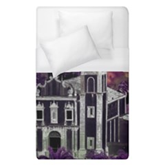 Fantasy Tropical Cityscape Aerial View Duvet Cover (Single Size)