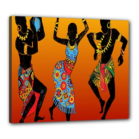 Dancing Canvas 24  x 20