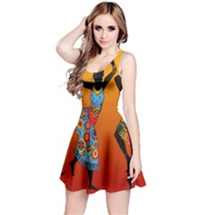 Dancing Reversible Sleeveless Dress