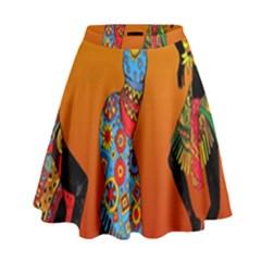 Dancing High Waist Skirt