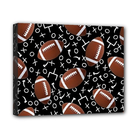 Football Player Canvas 10  x 8