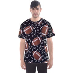 Football Player Men s Sport Mesh Tee